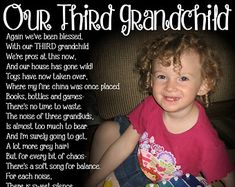 SECOND Grandchild Poem Block- XL Personalized Photo Blocks- Custom made to order with poem quote or scripture Poem Quotes, Poems, Girl Quotes, Quotes About Grandchildren, Photo Blocks, Grandparents Day, Large Photos, Bridal Shower Games, Crazy People