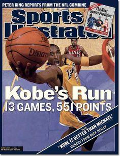 Kobe Bryant Sports Illustrated