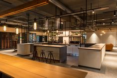 Bright office design by dSign Vertti Kivi. Bright Office, Offices, Kitchen, Design, Home Decor, Cooking, Decoration Home, Room Decor, Kitchens