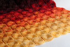 This blanket is a perfect baby shower gift or a baby birthday present. Some people may have an opinion that handmade crochet afghans look outdated and granny-like. You can prove them wrong with this modern handmade blanket.