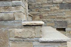 Ironwood Sandstone Veneer and Stairs