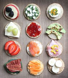Oatcakes Twelve Ways My Fussy Eater Easy Kids Recipes is part of Rice cakes healthy - Twelve sweet and savoury toppings for oatcakes Rice Cakes Healthy, Rice Cake Snacks, Rice Cake Recipes, Healthy Foods To Eat, Healthy Recipes, Rice Cake Toppings, Tostadas, Quick Snacks For Kids, Low Gi Foods