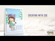 ▶ Making a card with a rubber stamp scene - YouTube