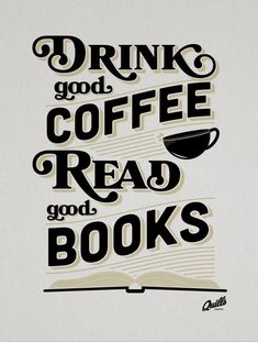 Be sure to have some books with your coffee!