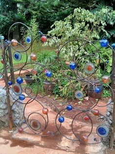 Garden Gate by Kitengela Hot Glass