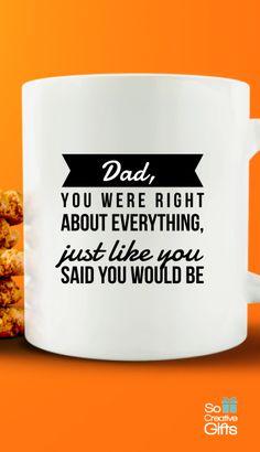 Father Novelty Mug – Great Gift idea For Dad -  White - 11oz