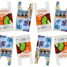 Ompele kestävä, pestävä kangaskassi muovikassikaavalla - hukkapaloista tulee sopiva pikkupussukka. Ompeluohje: kangaskassi muovikassin kaavalla. Reusable Tote Bags, Instagram