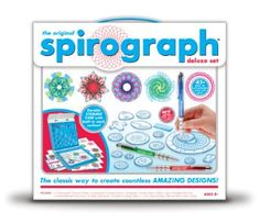 I liked going to my neighbor's house to play with this. Spirograph.