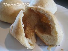Resurrection Rolls - Here's a fun cooking activity for you and the kids with a built in lesson about Easter  http://www.sistersshoppingonashoestring.com/easter-recipe-resurrection-rolls#