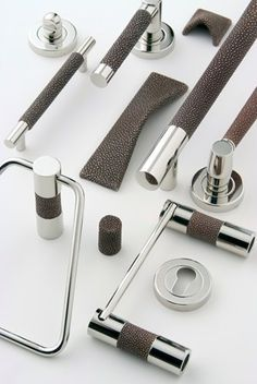Residential Architect - Shagreen Pulls and Levers
