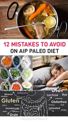 12 Mistakes To Avoid On The Paleo Autoimmune Protocol (AIP)