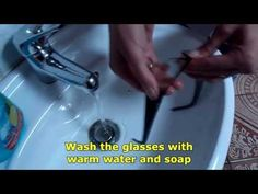 Have clean and durable glasses, using the right eyeglass cleaner. Wash the whole glasses under running water with soap whenever needed, and periodically. Professional Cleaning, Eyeglasses, Creativity, Tips, Eyewear, Glasses, Eye Glasses, Counseling