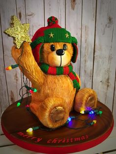 Teddy bear placing the Star! by Cincinnati37