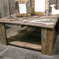 1000 images about table basse on pinterest tables zen - Table basse carree bois gris ...