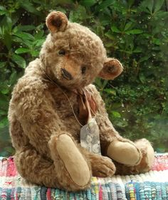 Susanne Tauber One of a Kind Artist Mohair Teddy Bear 18 inches tall in Dolls & Bears, Bears, Artist   eBay