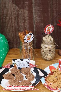 Red vintage cowboy Birthday Party Ideas | Photo 5 of 9 | Catch My Party