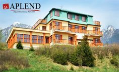APLEND Mountain Resort vo vysokohorskom prostredí Horného Smokovca Mountain Resort, Mansions, House Styles, Home Decor, Decoration Home, Manor Houses, Room Decor, Villas, Mansion