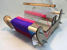 DIY Laser Cut Rigid Heddle Loom - Part Weaving With the Rigid Heddle Loom : 45 Steps (with Pictures) - Instructables Inkle Loom, Loom Weaving, Weaving Patterns, Loom Knitting, Diy Tools, Laser Cutting, Toddler Bed, Woodworking, Handmade