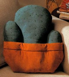 Southwest Cactus Quilted Pillow
