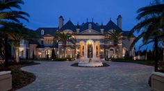 I would love a county style home but THIS is what i would like the most ;) a girl can dream right?