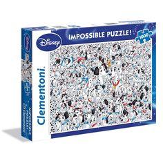 Puzzle Impossible Puzzle 1000 Pièces 101 Dalmatiens Impossible Puzzle 1000 Pièces 101 Dalmatiens