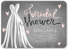 Fashionable Shower 5x7 Stationery Card by Stacy Claire Boyd | Shutterfly