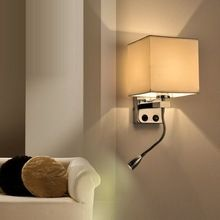 Modern Short Bed Wall Lights LED Reading Lamp Wall Lamp Hostel ...