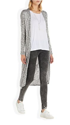Tregging Donkergrijs - Costes Fashion