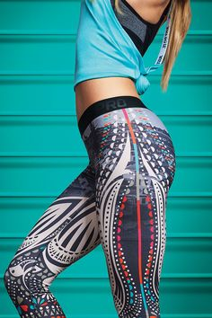 A truly unique tight to elevate your next workout. Celebrate the global energy of N+TC Tour in the new Nike Tight of the Moment x N+TC Tour Stockholm. http://www.FitnessApparelExpress.com #lyoness