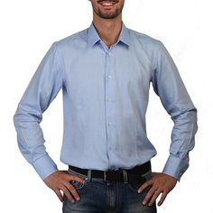 ROSSO FIORENTINO Man. Size 41. Overhemd, Shirt, Hemd, Chemise, Camisa, Camicia