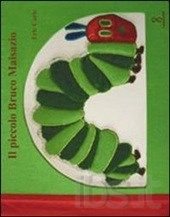 Piccolo bruco Maisazio, Eric Carle trasformato per i non vedenti e per tutti coloro che amano... le opere d'arte. Il libro, già in origine curioso e stimolante per le sue pagine colorate, sagomate e tagliate, viene arricchito dalla presenza di tessuti vari. Le illustrazioni, infatti, vengono messe in rilievo con tessuti differenti quali stoffa, carta, seta, cartoncino e iuta e il testo è scritto anche in braille.