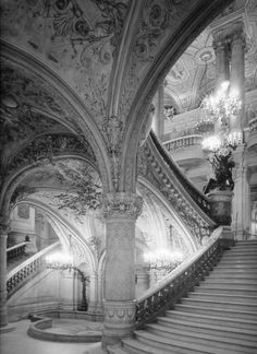 ♔ Stairway at the Palais Garnier ~ Paris