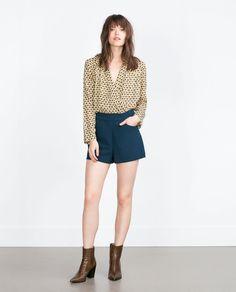 KNOT SHORTS from Zara
