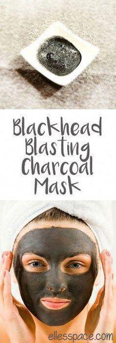DIY Charcoal Face Mask - where would you get charcoal anyways? #TumericFaceMaskRecipes #SkinPeelMask #CharcoalMaskBenefits Face Scrub Homemade, Homemade Face Masks, Diy Face Mask, Charcoal Face Mask Diy, Charcoal Mask Benefits, Mascarilla Diy, Homemade Acne Treatment, Diy Masque, Avocado Face Mask