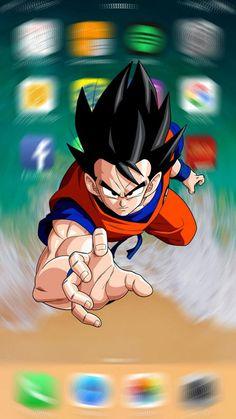 Goku Lock Screen in 2020 Dragon ball artwork Anime dragon ball super Dragon ball art