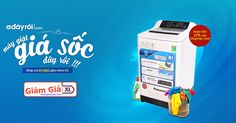 Mã giảm giá máy giặt trên Adayroi | Giảm Giá XL