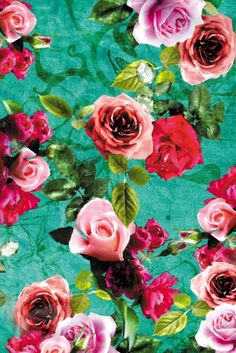And if you can't have a garden? I highly suggest this flowered wallpaper.