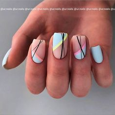 Now,the footsteps of fall are getting closer, you can prepare early, and quickly collect a pair of frosted nails that can be used to lead the fashion. #mattenails, #shortnails, #nailsart, #nailsdesigns