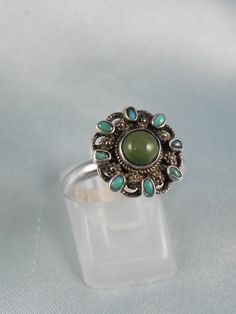 Native American Turquoise Ring by hollywoodrings on Etsy, $45.00
