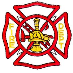 fire dept logo embroidery design pinterest fire dept embroidery rh pinterest com fire station logo design fire department logo design