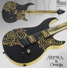 Arda Guitars - Chitarra elettrica di liuteria - Liuteria italiana - Handmade Guitar - Custom guitar
