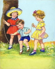 E V Abbot ~ jumprope http://www.pinterest.com/source/iamachild.wordpress.com/