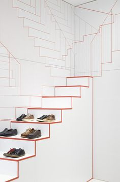 Dutch designers Studio Makkink & Bey have completed a store for shoe brand Camper in Lyon with staircases that seem to go on forever. Mehr