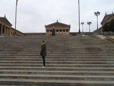 Rocky steps, Philly