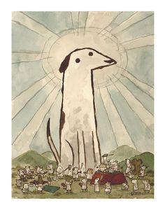 Dog Amongst Dogs by Scott C