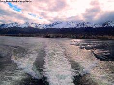 Vista para o Canal Beagle em Ushuaia !