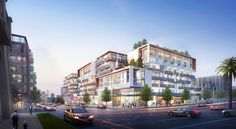 Steinberg's Sapphire Mixed-Use Apartments - Downtown Los Angeles, California | Steinberg Architects