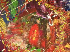 contemporary art abstract painting canvas