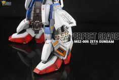 PG Zeta Gundam - Customized Build Modeled by Jon-K Zeta Gundam, Air Jordans, Sneakers Nike, Guys, Robots, Building, Model, Plastic, Nike Tennis