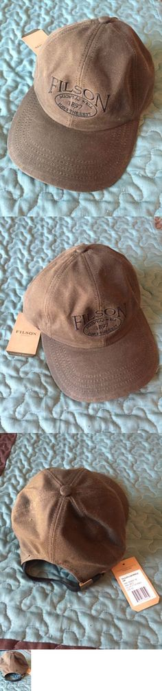 6605042c Hats 52365: Filson Tin Cloth Low Profile Cap Medium Otter Green New With  Tags -> BUY IT NOW ONLY: $30 on eBay!